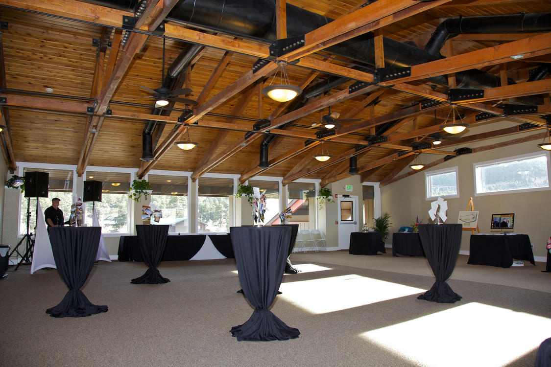 Reception Setup at 800 Moraine Event Space