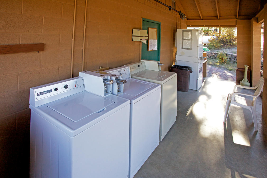 Manor RV Park Laundry Area