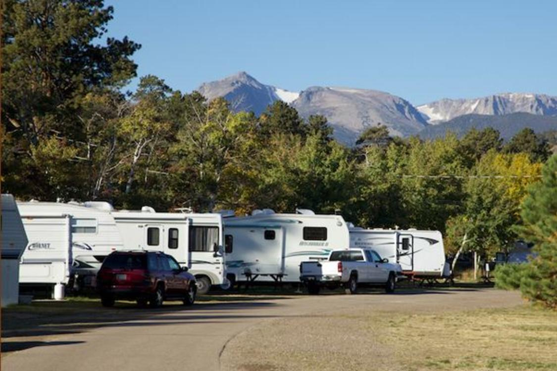 RVs at Manor RV Park