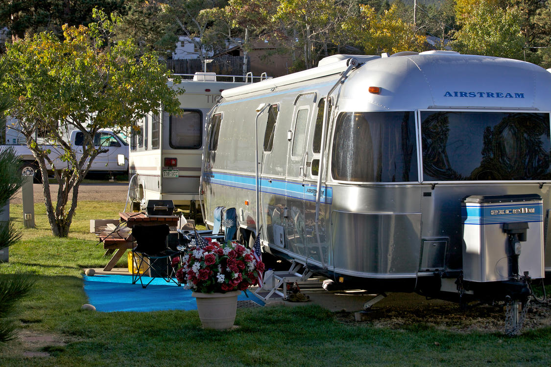 Airstream at Manor RV Park