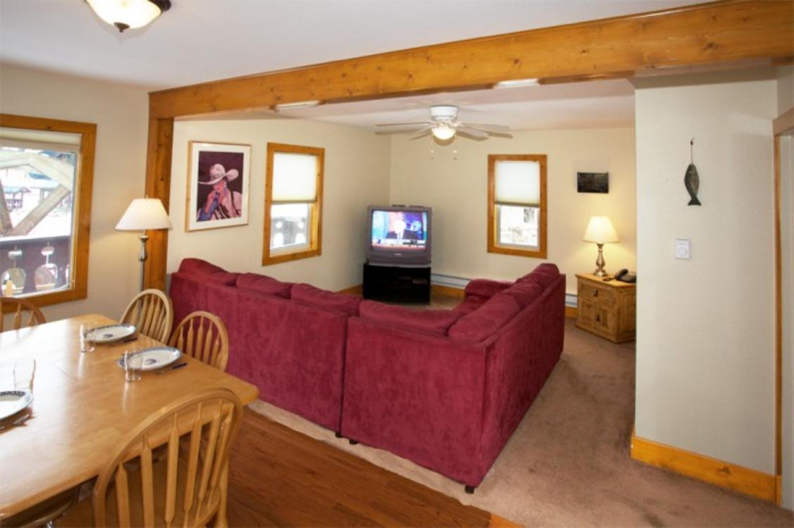 Lake Trout House Living Room