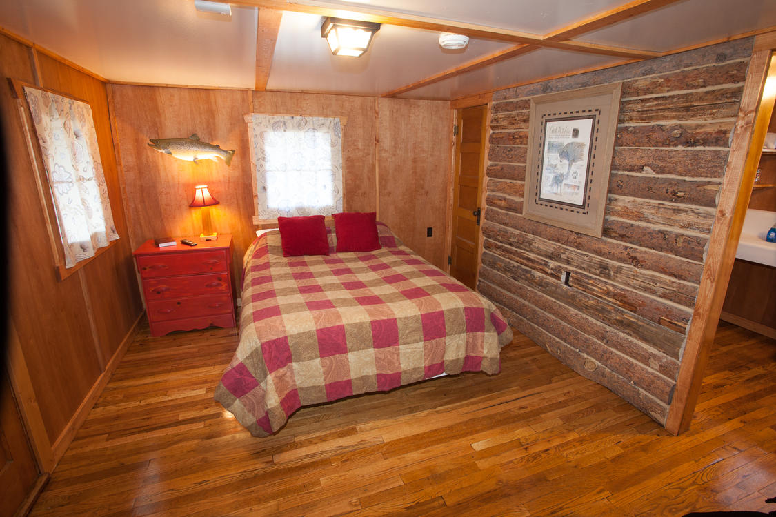 Alternate View of Tiny Town Cabins Bedroom