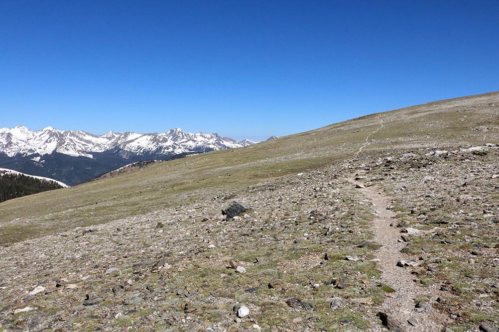 fe72bd2f6b1 After the 3.5 mile trek above treeline